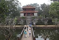 The Emperor Minh Mang  Pavilion near  Hue, Vietnam, Photograph by Dennis Brack