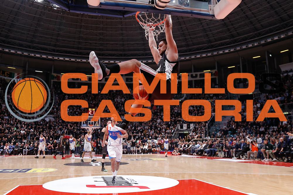 Gentile Alessandro<br /> Segafredo Virtus Bologna - Redoctober Cantu<br /> Legabasket Serie A 2017/18<br /> Bologna, 07/04/2018<br /> Foto MarcoBrondi / Ciamillo-Castoria