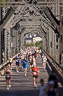 Ottawa, Ontario ---25/05/08--- \otm\ runs during the ING Ottawa Marathon, May 26, 2008..GEOFF ROBINS /