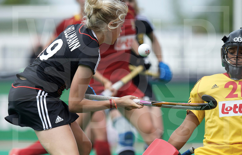 ROTTERDAM - Hock World League Semi Final Women<br /> Germany  v Belgium<br /> foto: Kristina Hillmann..<br /> FFU PRESS AGENCY COPYRIGHT FRANK UIJLENBROEK