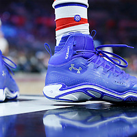 21 December 2015: Close view of Los Angeles Clippers forward Wesley Johnson (33) Under Armour shoes during the Oklahoma City Thunder 100-99 victory over the Los Angeles Clippers, at the Staples Center, Los Angeles, California, USA.