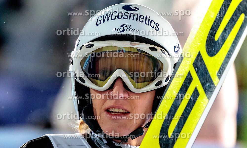 24.02.2017, Lahti, FIN, FIS Weltmeisterschaften Ski Nordisch, Lahti 2017, Damen Skisprung, im Bild Daniela Iraschko-Stolz (AUT) // Daniela Iraschko-Stolz of Austria during Ladies Skijumping Competition of FIS Nordic Ski World Championships 2017. Lahti, Finland on 2017/02/24. EXPA Pictures © 2017, PhotoCredit: EXPA/ JFK
