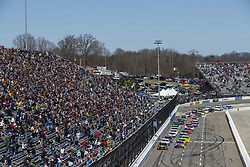 March 26, 2018 - Martinsville, Virginia, United States of America - March 26, 2018 - Martinsville, Virginia, USA: The Monster Energy NASCAR Cup Series teams take to the track for the STP 500 at Martinsville Speedway in Martinsville, Virginia. (Credit Image: © Chris Owens Asp Inc/ASP via ZUMA Wire)