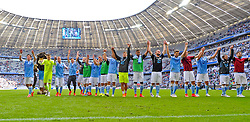 Football: Germany, 2. Bundesliga, TSV 1860 Muenchen - 1.FC Nuernberg, 17.05.2015,<br />