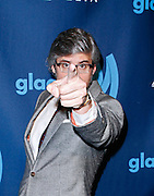 Mo Rocca attends the 24th Annual GLAAD Media Awards at the Marriott Hotel in New York City, New York on March 16, 2013.