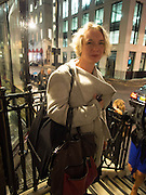 STEPHANIE DIECKVOSS, Opening of Morris Lewis: Cyprien Gaillard. From Wings to Fins, Sprüth Magers London Grafton St. London. Afterwards dinner at Simpson's-in-the-Strand hosted by Monika Spruth and Philomene Magers.