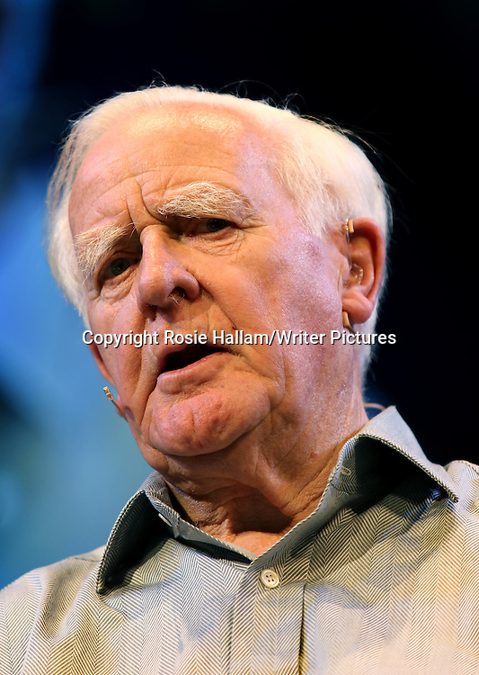 John le Carre at Hay Literary Festival 2013<br /> 31st May 2013<br /> <br /> Photograph by Rosie Hallam/Writer Pictures<br /> <br /> WORLD RIGHTS