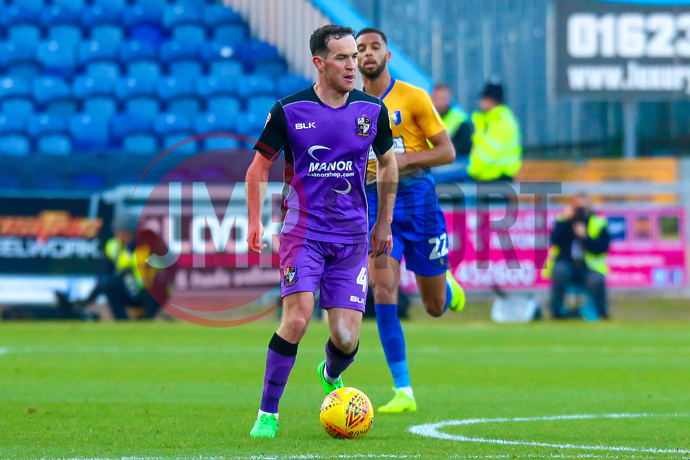 Luke Joyce of Port Vale looks for options - Mandatory by-line: Ryan Crockett/JMP - 17/11/2018 - FOOTBALL - One Call Stadium - Mansfield, England - Mansfield Town v Port Vale - Sky Bet League Two