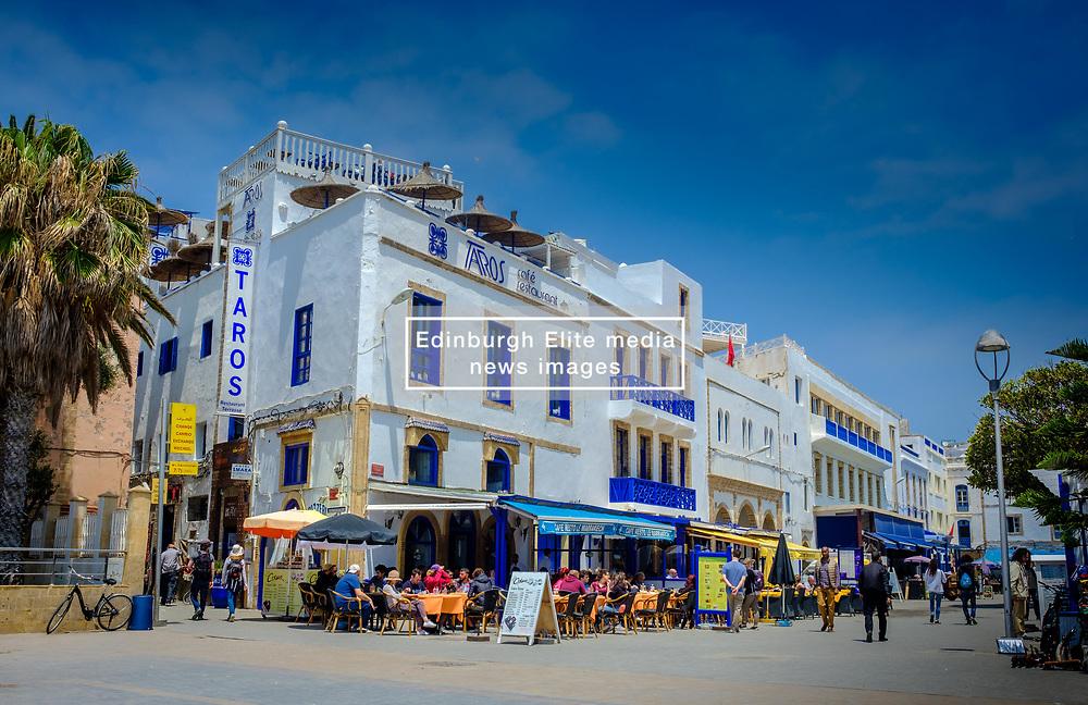 The fashionable main square in Essaouirs, Morocco<br /> <br /> (c) Andrew Wilson   Edinburgh Elite media