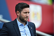 Bristol City manager Lee Johnson during the EFL Sky Bet Championship match between Bristol City and Hull City at Ashton Gate, Bristol, England on 21 April 2018. Picture by Graham Hunt.