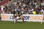 EDF Energy Cup,  Quins Mike BROWN, during the NEC Harlequins vs Sale Sharks match at the Stoop Stadium, Twickenham. 07/10/2006 . [Photo, Peter Spurrier/Intersport-images]..