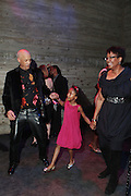 28 April 2011- New York,  NY- Harriette Cole, her daughter, Carrie Chinsee, and husband George Chinsee at The Sparkling Celebration for the Birthday of Harriette Cole held at the Galapagos Art Space on April 27, 2011 in Brooklyn, NY Photo Credit: Terrence Jennings