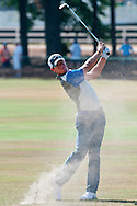 Rory McIlroy hits from the 14th fairway during the final round of the U.S. Open on Sunday  June 15, 2014 at Pinehurst #2. (Photo by Alan Lessig)