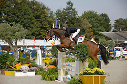 Bijlsma Maaike - Vedor<br /> World Championship Young Horses Lanaken 2008<br /> Photo Copyright Hippo Foto