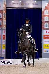 Gal Edward, NED, Glock's Voice<br /> FEI World Cup Dressage - Grand Prix<br /> Jumping Amsterdam 2017<br /> © Hippo Foto - Leanjo de Koster<br /> 27/01/17