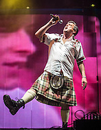 09-07-2016<br /> T in the Park 2016 - Saturday<br /> <br /> Bay City Rollers on King Tuts stage - Les McKeown<br />  <br /> <br /> Pic:Andy Barr<br /> <br /> www.andybarr.com<br /> <br /> Copyright Andrew Barr Photography.<br /> No reuse without permission.<br /> andybarr@mac.com<br /> +44 7974923919
