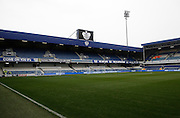 An empty Loftus Road Stadium before the Sky Bet Championship match between Queens Park Rangers and Leeds United at the Loftus Road Stadium, London, England on 28 November 2015. Photo by Andy Walter