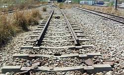 South Africa – Johannesburg – Benrose train yard looted. 15 September 2020. A train yard at Benrose adjacent to an industrial area at City Deep looks abandoned and multiple train lines stolen mounting up to kilometres of track. Some looters are still stripping metal but the main attack is done. The entire train yard is stripped of its metal by what seems to be an organized gang who has spent the last few months looting the train infrastructure around Gauteng.  Picture: Timothy Bernard/African News Agency(ANA)