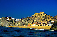 Playa Solmar (beach) on the Pacific ocean side of Cabo San Lucas, Los Cabos, Baja California, Mexico