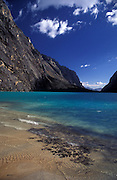 Lake Llanganuco, Cordillera Blanca, Peru