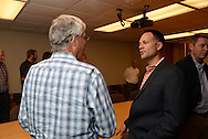 Matt Waits Reception for being named Distinguished Alumni of College of Agricultural Sciences and Natural Resources Department of Agricultural Economics.