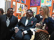 ISAAC JULIEN; YINKA SHONIBARE, Royal Academy of Arts Annual Dinner. Burlington House, Piccadilly. London. 6 June 2017