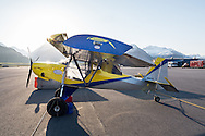 Steve Henry of Wild West Aircraft's  Just Aircraft SuperStol at the Valdez fly-in & Air Show in Valdez, Alaska. May 10 and 11, 2014. Photos by Scott Dickerson.