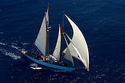 Altair racing in the St. Barth Bucket regatta.