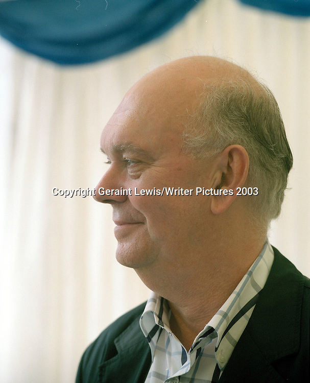 Alan Ayckbourn Playwriter and Theatre Director<br /> <br /> Picture Copyright Geraint Lewis/Writer Pictures<br /> contact: +44 (0)20 822 41564<br /> sales@writerpictures.com<br /> www.writerpictures.com