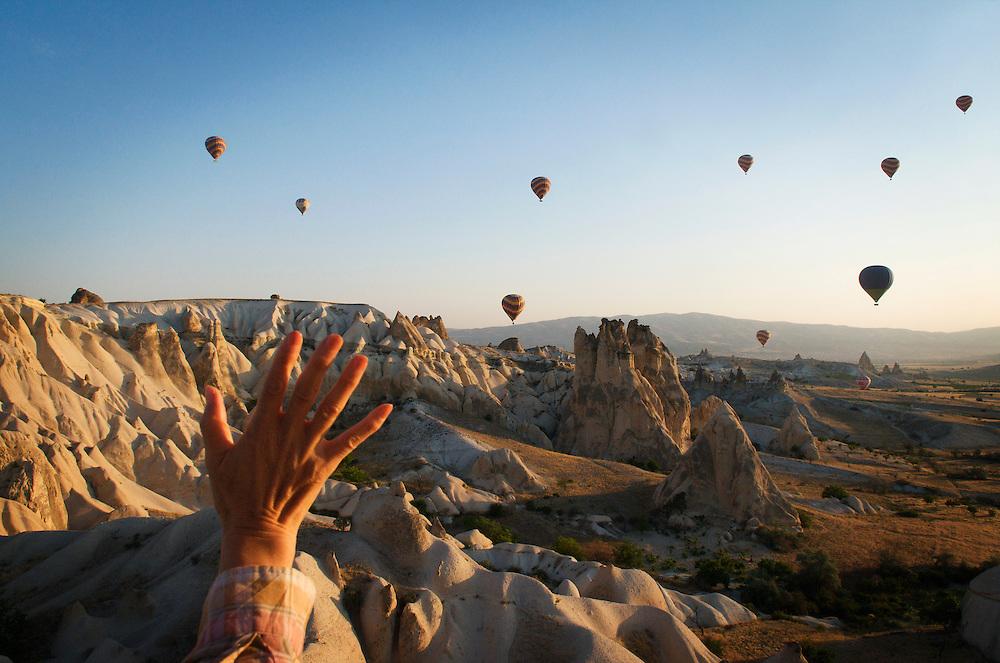 Goreme. <br /> Cappadocia, Turkey.