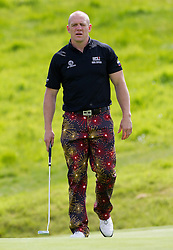 Mike Tindall  at a  celebrity golf event  in aid of Rugby for Heroes at Celtic Manor,Wales, United Kingdom, Monday, 19th May 2014. Picture by  i-Images