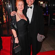 NLD/Amsterdam/20110124 - Uitreiking Beeld en Geluid awards 2010, Kenneth Herdigein en partner