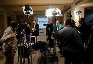 Roma 26 Febbraio 2013.Il MoVimento 5 Stelle presenta alla stampa  alcuni candidati  per il consiglio regionale del Lazio.. Davide Barillari candidato a presidente della Regione Lazio.