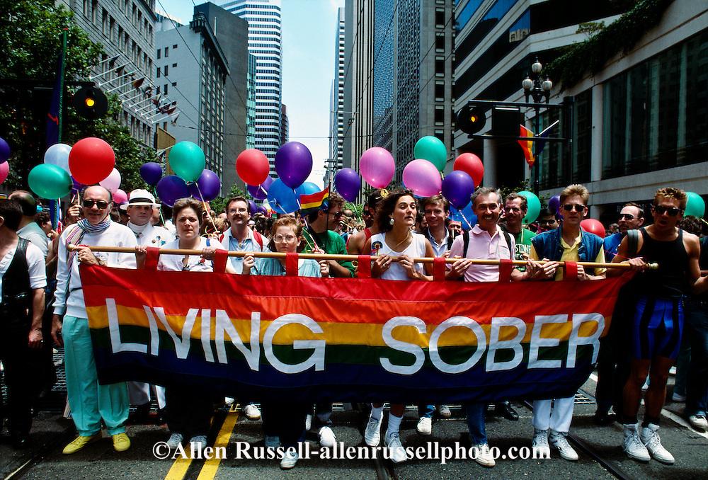 Gay Day Parade, sobriety, San Francisco, California
