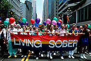 Gay Day Parade, sobriety, San Francisco, California
