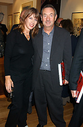 NICK & NETTE MASON at a party to celebrate the publication of Drawing Blood -Forty-Five Years of Scarfe Uncensored, a book of Gerald Scarfe's work held at The Fine Arts Society, New Bond Street, London on 3rd November 2005.<br /><br />NON EXCLUSIVE - WORLD RIGHTS
