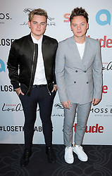 Jack Maynard and Conor Maynard attend the 2016 Attitude Awards in association with Virgin Holidays, at 8 Northumberland Avenue, London. Monday October 10, 2016. Photo credit should read: Isabel Infantes / EMPICS Entertainment.