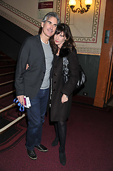 RONNI ANCONA and her husband DR GERARD HALL at Cirque du Soleil's VIP night of Kooza held at the Royal Albert Hall, London on 8th January 2013.