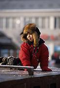 Eskimo Boy, Eskimo, Inuit, Athabaskan, Boy, Child, Anchorage, Alaska