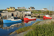 Iconic fishing village in the talantic<br /> Peggy's Cove<br /> Nova Scotia<br /> Canada