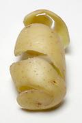 peeled potato skin