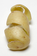 peeled potato skin