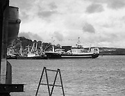 "Supertrawler arrives at Killybegs..1986..17.05.1986..05.17.1986..17th May 1986..""Atlantic Challenge"" the new IR£6million supertrawler,the flag ship of the Irish fishing fleet arrived at Killybegs today. The vessel was built for Killybegs' Enterprises in Bergen,Norway. Killybegs' Enterprises also have ""Western Viking"".""Jasper Sea"" and""Silver King""supertrawlers in their fleet..The vessel will be skippered by Mr Martin Howley who originally trained with B.I.M.s National Fishery Training Centre, Greencastle..The company plans to fish for non-quota stocks such as Blue Whiting and Horse Mackerel,her fishing pattern will lessen dependence on mackerel as quotas are low for the Irish fleet...A view from across the harbour of super trawler ""Atlantic Challenge as she lies moored."