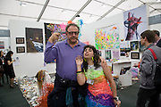 JOHNNY PIGOZZI; DANIELA LUNA, APPETITE; ARGENTINE GALLERY, Frieze Art Fair 2008. Regent's Park. London. 15 October 2008 *** Local Caption *** -DO NOT ARCHIVE -Copyright Photograph by Dafydd Jones. 248 Clapham Rd. London SW9 0PZ. Tel 0207 820 0771. www.dafjones.com
