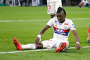 Bertrand Traore of Lyon during the French Championship Ligue 1 football match between Olympique Lyonnais and SM Caen on march 11, 2018 at Groupama stadium in Decines-Charpieu near Lyon, France - Photo Romain Biard / Isports / ProSportsImages / DPPI