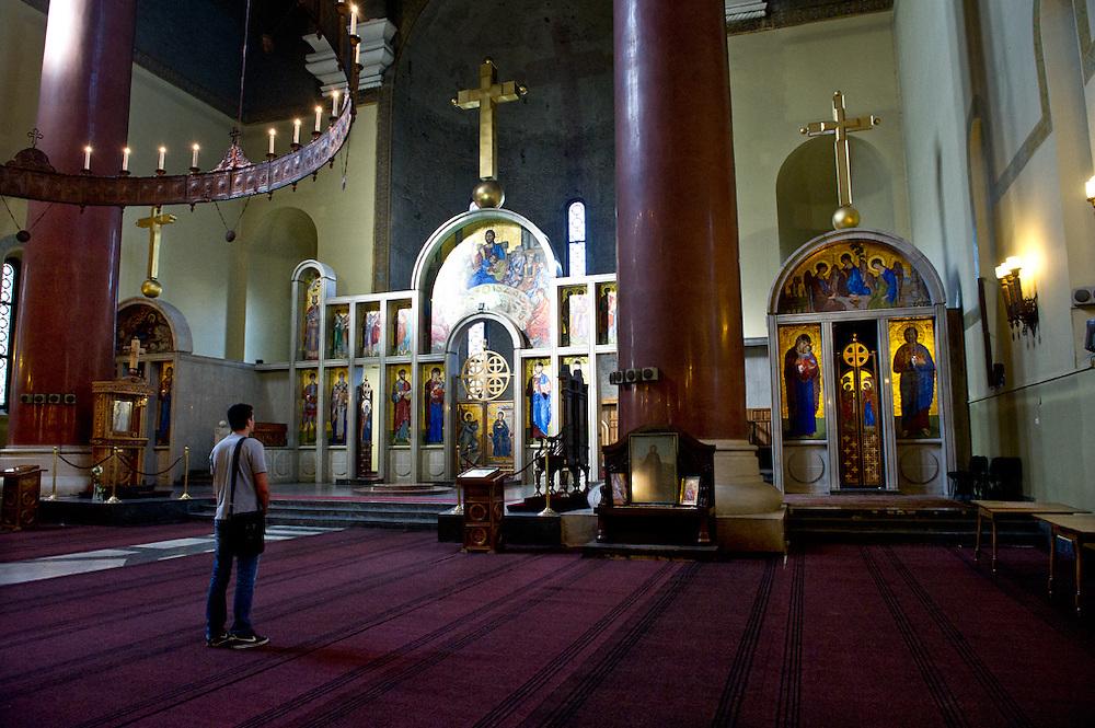 Chiesa Ortodossa, Belgrado, Serbia, 2012