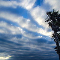 Santa Monica Beach amid the sunset on Monday, June 24, 2013.