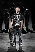 Chaz Ortiz - Professional Street Skateboarder<br /> For ESPN RISE Magazine.