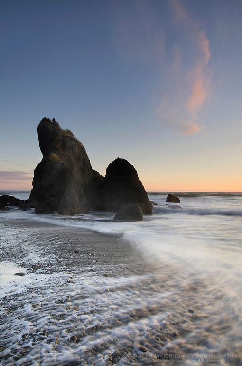 Sunset, Ruby Beach Olympic National Park