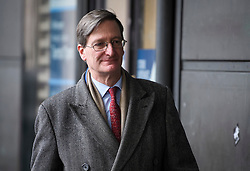 © Licensed to London News Pictures. 20/03/2019. London, UK. DOMINIC GRIEVE MP is seen arriving at the Houses of Parliament in London. British Prime Minster Theresa May is reportedly due to write to EU leaders to ask for an extension to Article 50 following Parliament's failure to approve the proposed withdrawal agreement. Photo credit: Ben Cawthra/LNP
